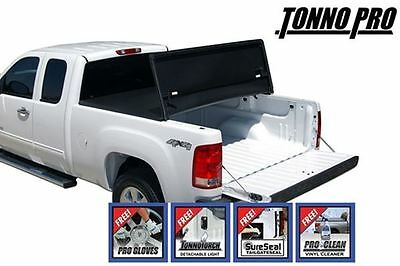 TonnoPro Tri-Fold Tonneau Cover for 05-17 Nissan Frontier Standard Bed 6'ft