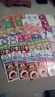 job lot of 50 birthday cards ages.