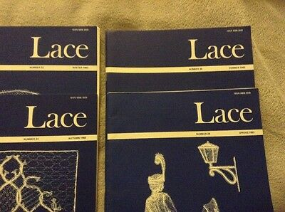 Lace Guild Magazines/Lace Making/Bobbin Lace - Issues 29 30 31 32