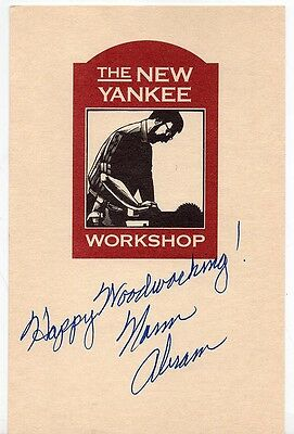 PBS New Yankee Workshop Sticker – Signed by Norm Abram