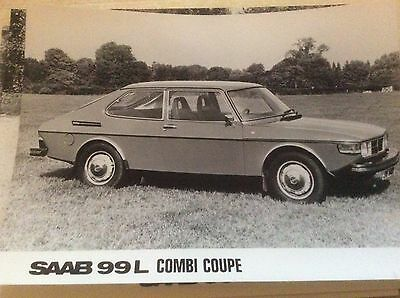 SAAB 99  L  COMBI COUPE   OFFICIAL SAAB PRESS RELEASE PHOTO  1976    #Saa9908