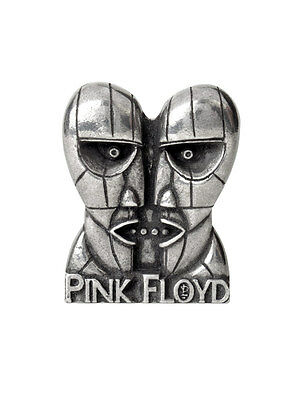 Alchemy Rocks - PINK FLOYD Division Bell - Pewter Pin Badge