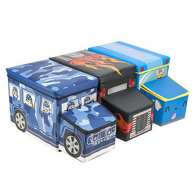 New Kids Children Storage box toy & Learning Tools for Boys & Girls Car Gift  UK