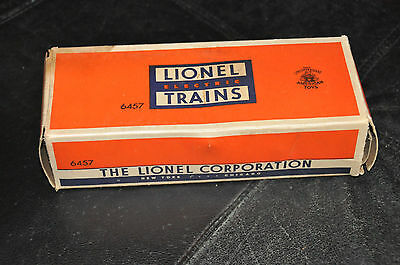 Lionel Trains # 6457 Caboose-- Box Only