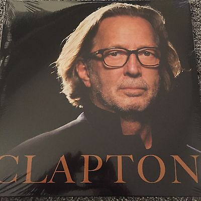 Eric Clapton 'clapton' 2 X  Vinyl Lp - New And Sealed