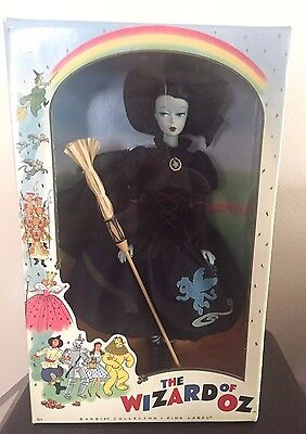 The Wizard of OZ Wicked Witch retro barbie doll, Pink Label Collection 2010