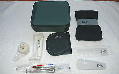 Bwia British West Indies Airline Airways Business Class Amenity Kit