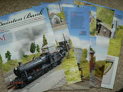 Dainton Bank GWR main line in Devon in 7mm scale - Hornby magazine article