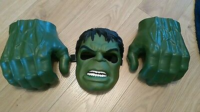 Hulk Smash Hands Fists With Mask