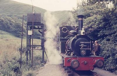 1972 TALYLLYN NARROW GAUGE RAILWAY WALES ORIGINAL 35mm PHOTO SLIDE #5