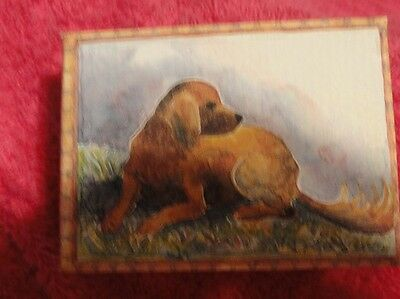 Irish Setter Small Trinket Box Bathers at Asnieres Georges-Pierre Seurat