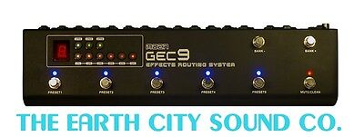Gec9 Commander Effects Looper From Moen 10 Bank Presets Fast  Silent Switching