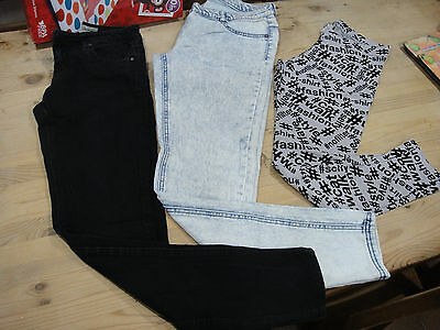 Girls NEXT Jeggings & Jeans Age 16 Years & Black Jeans Size 8