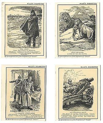 Wills - Punch Cartoons - 4/25 - 1916 - Good To Very Good Condition