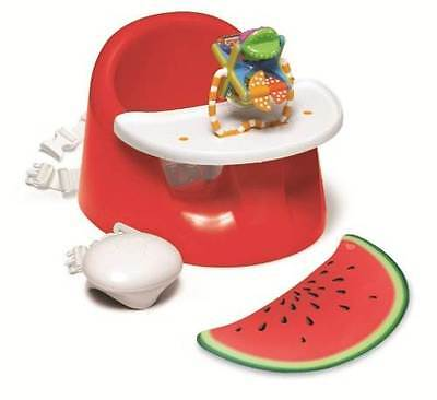 Prince Lionheart Bebepod Plus Watermelon Baby Booster Seat Chair With Tray NEW