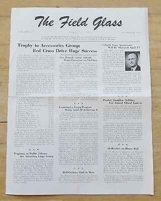 1950 Marshall Field & Co. Field Glass Newsletter - The Field Glass