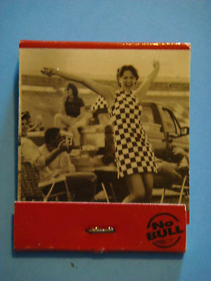Matches Matchbook    WINSTON  Cigarettes ~ Auto Racing Nation ~ Happy Girl Party