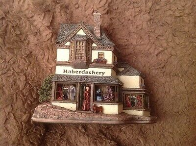 Lilliput Lane Haberdashery The Victorian Shops Collection L2053 1997.      (494)