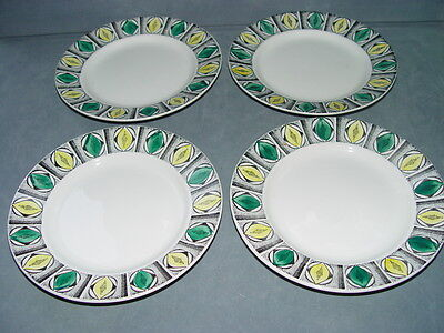 Vintage Kathie Winkle side plates in Mexico pattern