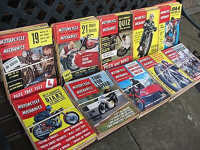 Motorcycle Mechanics. The 1960's. Every Issue. 1960 - 1969. Collection. job lot