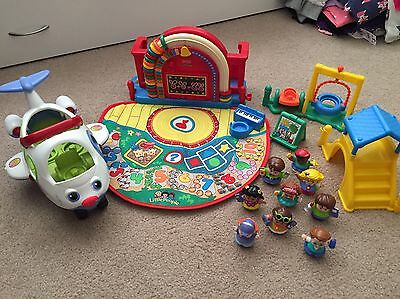 Fisher Price Little People School And Plane
