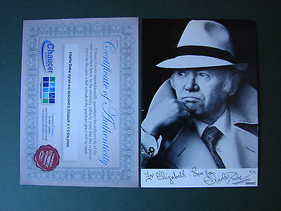 Charlie Drake SIGNED Photograph Autograph 6 x 4 inches with COA