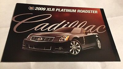 2009 Cadillac XLR  Platinum Roadster Postcard *New* Free Shipping in the US