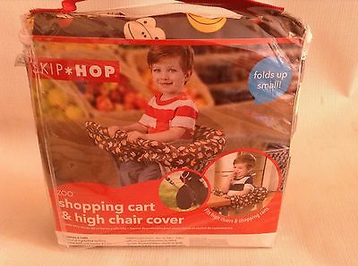 Skip Hop Zoo Shopping Cart and High Chair Cover-monkey