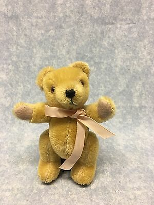 """Merrythought Teddy Bear 6"""" tall Mohair fully jointed"""