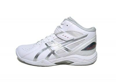 asics basketball shoes LADY GEL FAIRY6 TBF400 0193 White X luna silver US10