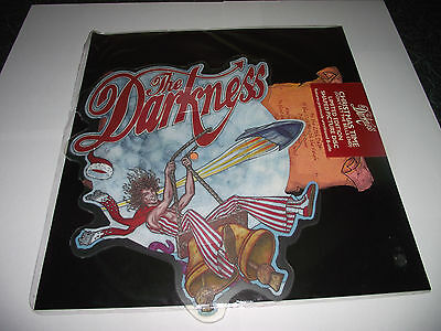 The Darkness Shaped Picture Disc Ltd Ed Christmas Time (Dont Let The Bells End)