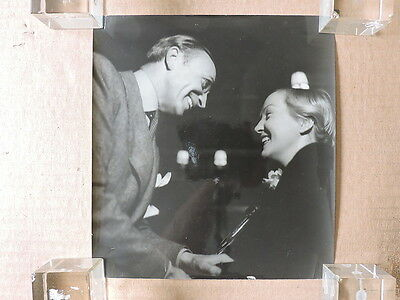 Conrad Veidt with Dita Parlo original candid photo by Gaston Paris 1940's