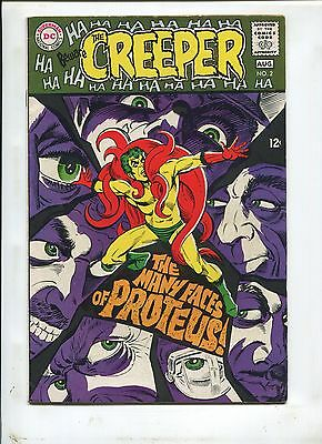 """Beware Of The Creeper #2 (7.0) """"the Many Faces Of Proteus!"""" 1968"""