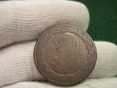 1787 One Penny Druid Wales Anglesey Mines Conder Token Colonial Coin
