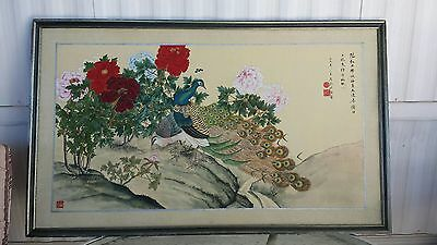 Asian Chinese China Silk Paper Painting