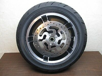 Oem Harley Touring Street Glide Enforcer Rear Wheel With Tire & Rotor - No Miles