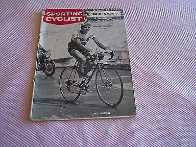 Sporting Cyclist Tour  De France Issue 1964.