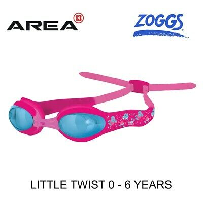 Zoggs Little Twist Swimming Goggles Pink 0 - 6  Years, Children's Swimming Goggl