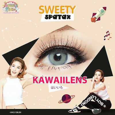 Eye Makeup Cosplay Contact lens Color Soft Cosmetic Sweety Spatax Gray 14.50 mm