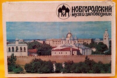 EASTER? RUSSIA - Vintage MATCHBOX - NOVGOROD (Churches), with 25 SETS OF MATCHES