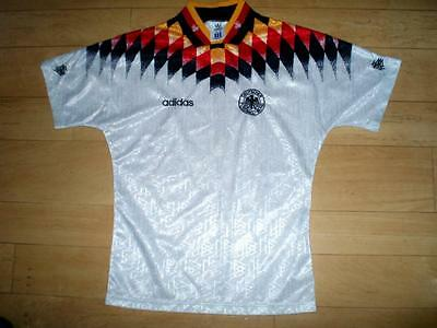 VINTAGE Germany 1994-96 home football shirt soccer jersey top ages 12-14 years