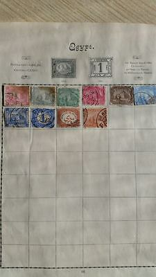 Egypt post stamps, lot of 10 pcs.