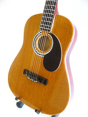 Miniature Acoustic Guitar KEITH URBAN - JOHN MAYER Musical Birthday Gift