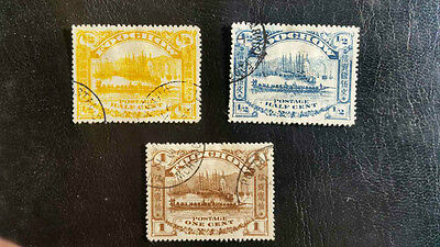 China stamps (Foochow), Local Post, lot of 3 pcs., F/VF