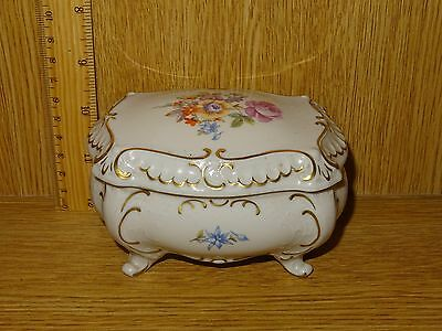 .germany. Unter Weiss Bach Vintage High Class Porcelain Box