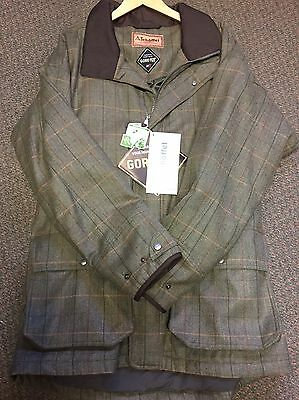 Schoffel Countrywear, Ptarmigan mens tweed shooting jacket size 48