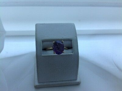 Vintage Amethyst 14Ct Gold(Tested) Ring
