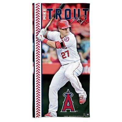 WinCraft Mike Trout Los Angeles Angels MLB Strandtuch