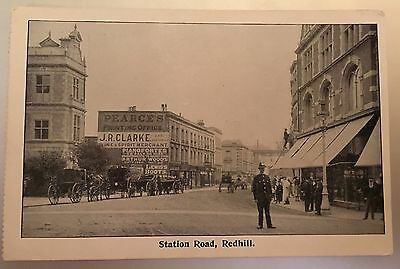 Station Road Redhill Surrey  Post Card