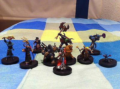wow miniatures game pack